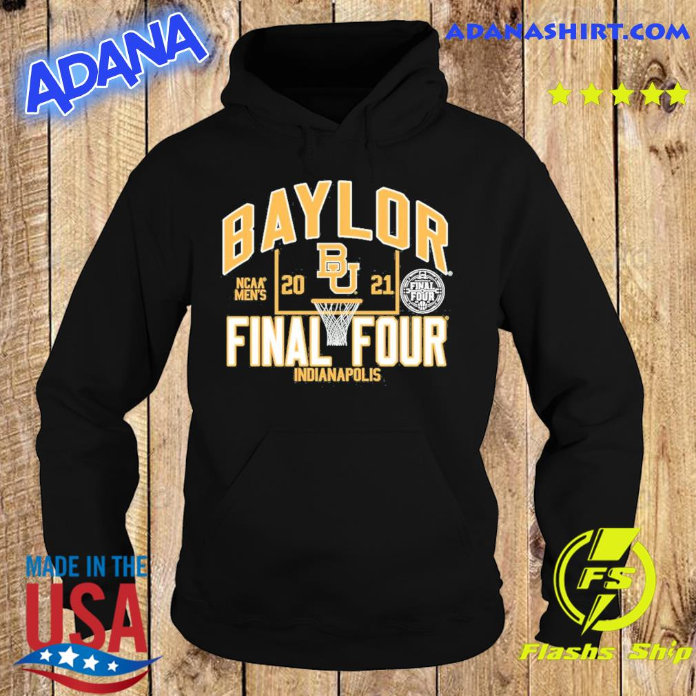 Official Baylor Bears Blue 84 Youth 2021 NCAA Men's Basketball Tournament March Madness Final Four Bound T-Shirt Hoodie