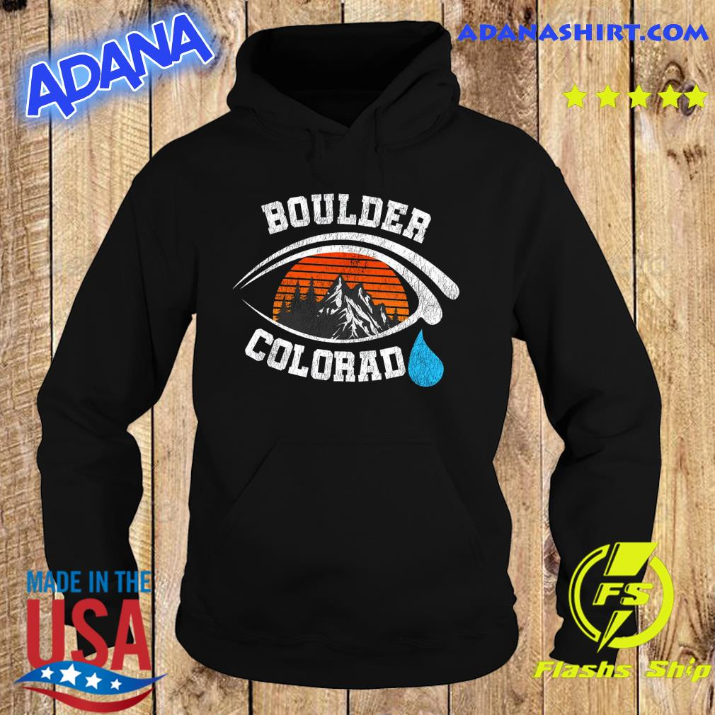 Official 2021 Pray For Boulder Colorado Strong Heart Boulder Co Cry Vintage s Hoodie