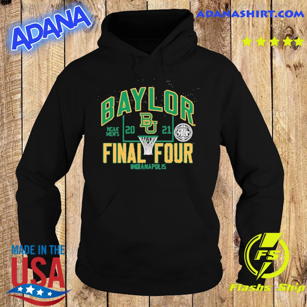 Official Baylor Bears Blue 84 Women's 2021 NCAA Men's Basketball Tournament March Madness Final Four Bound Tri-Blend Long Sleeve T-Shirt Hoodie