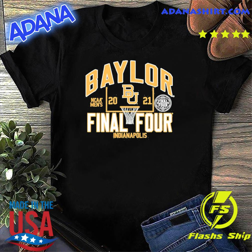 Official Baylor Bears Blue 84 Youth 2021 NCAA Men's Basketball Tournament March Madness Final Four Bound T-Shirt