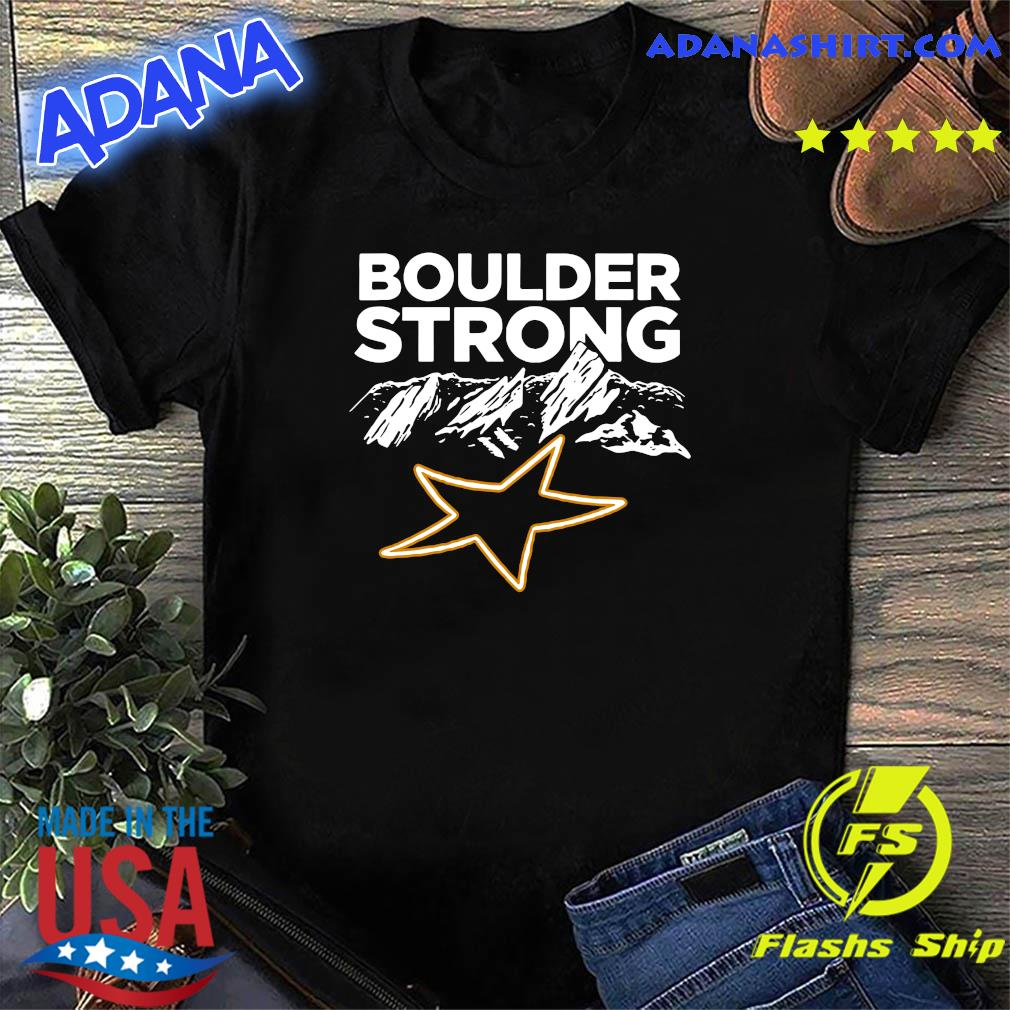 Official Boulder Strong Tee Shirt