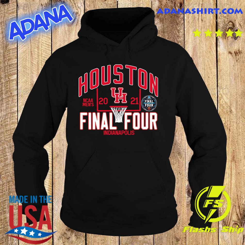Official Houston Cougars 2021 NCAA Men's Basketball Tournament March Madness Final Four Bound Tri-Blend Shirt Hoodie