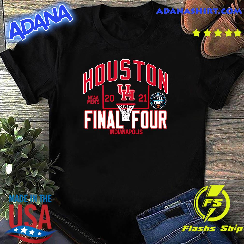 Official Houston Cougars 2021 NCAA Men's Basketball Tournament March Madness Final Four Bound Tri-Blend Shirt