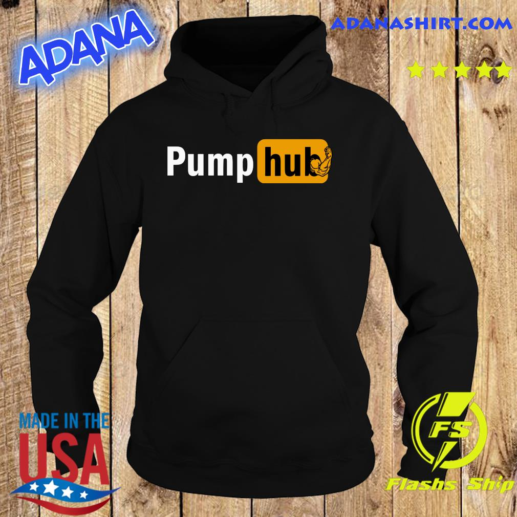 Official Pump Hub Gym Shirt Hoodie