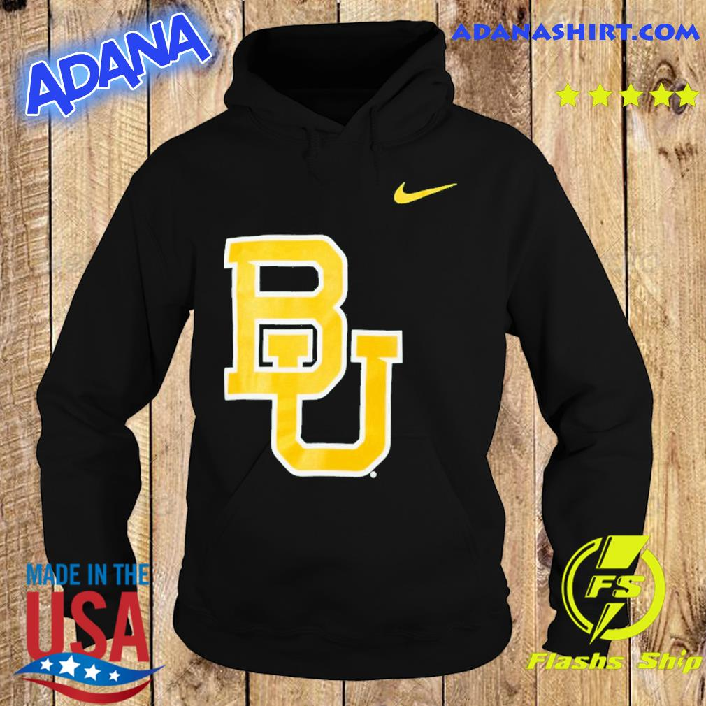 Nike Baylor Bears Logo Legend Performance T-Shirt Hoodie
