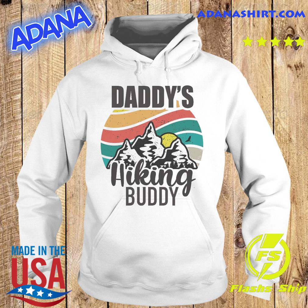 Official Daddy's Hiking Buddy Happy Mother's Day 2021 Vintage Shirt Hoodie