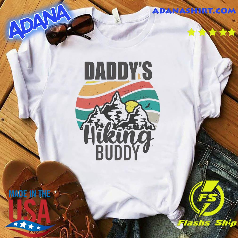 Official Daddy's Hiking Buddy Happy Mother's Day 2021 Vintage Shirt