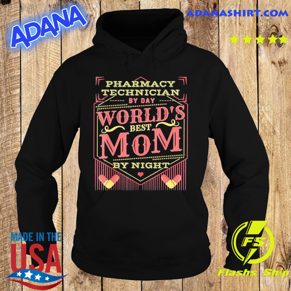 Worlds Best Mom I Funny Pharmacy Tech Pharmacist Mothers Day Classic T-Shirt Hoodie