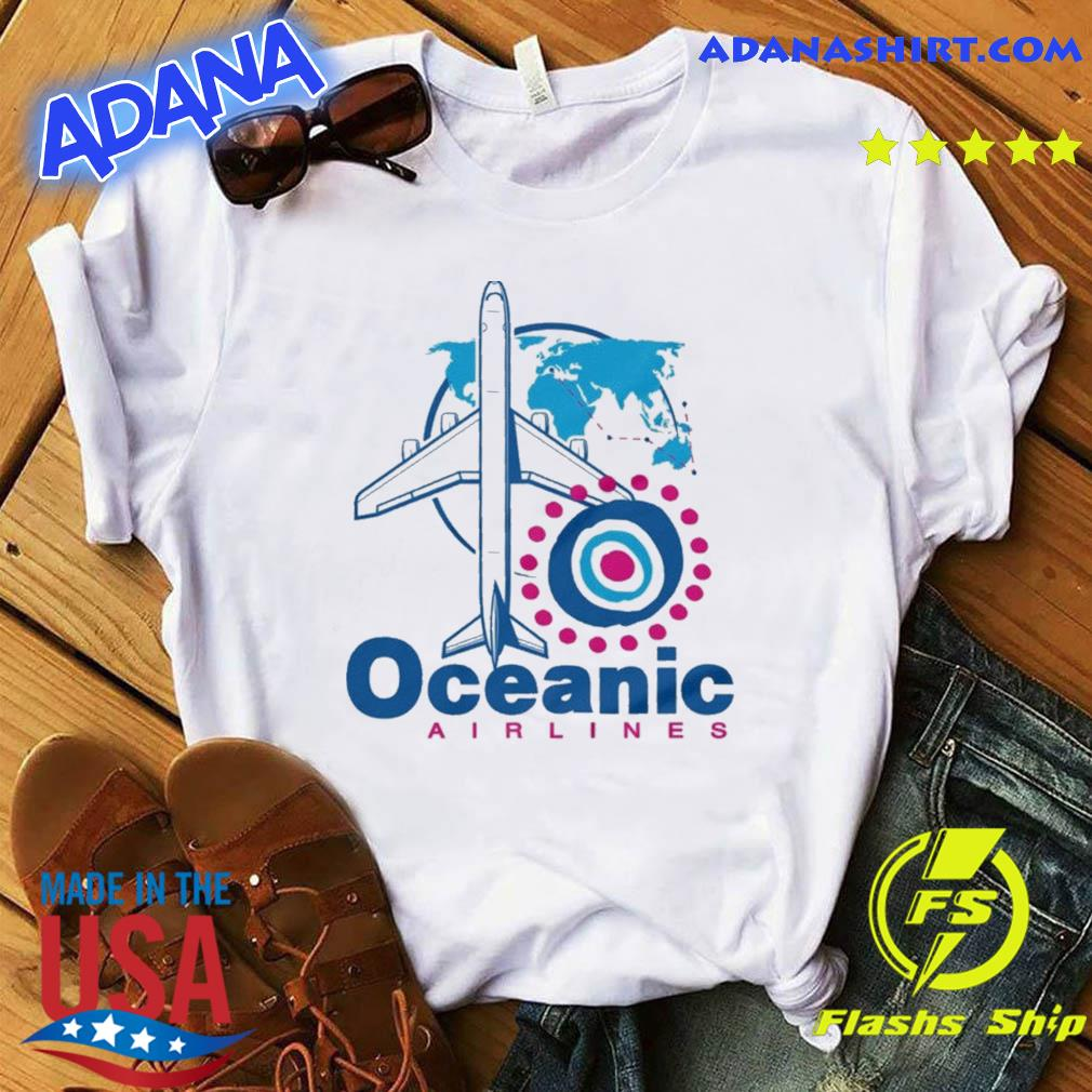 Official Lost TV Series Oceanic Airlines shirt