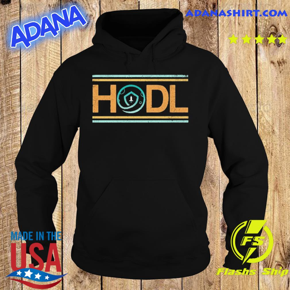 Retro Safemoon HODL Cryptocurrency Shirt Hoodie