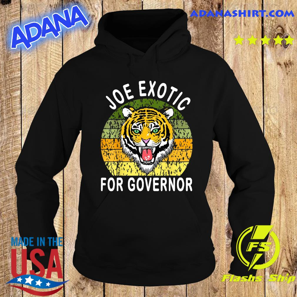 Joe Exotic For Governor Vintage Shirt Hoodie