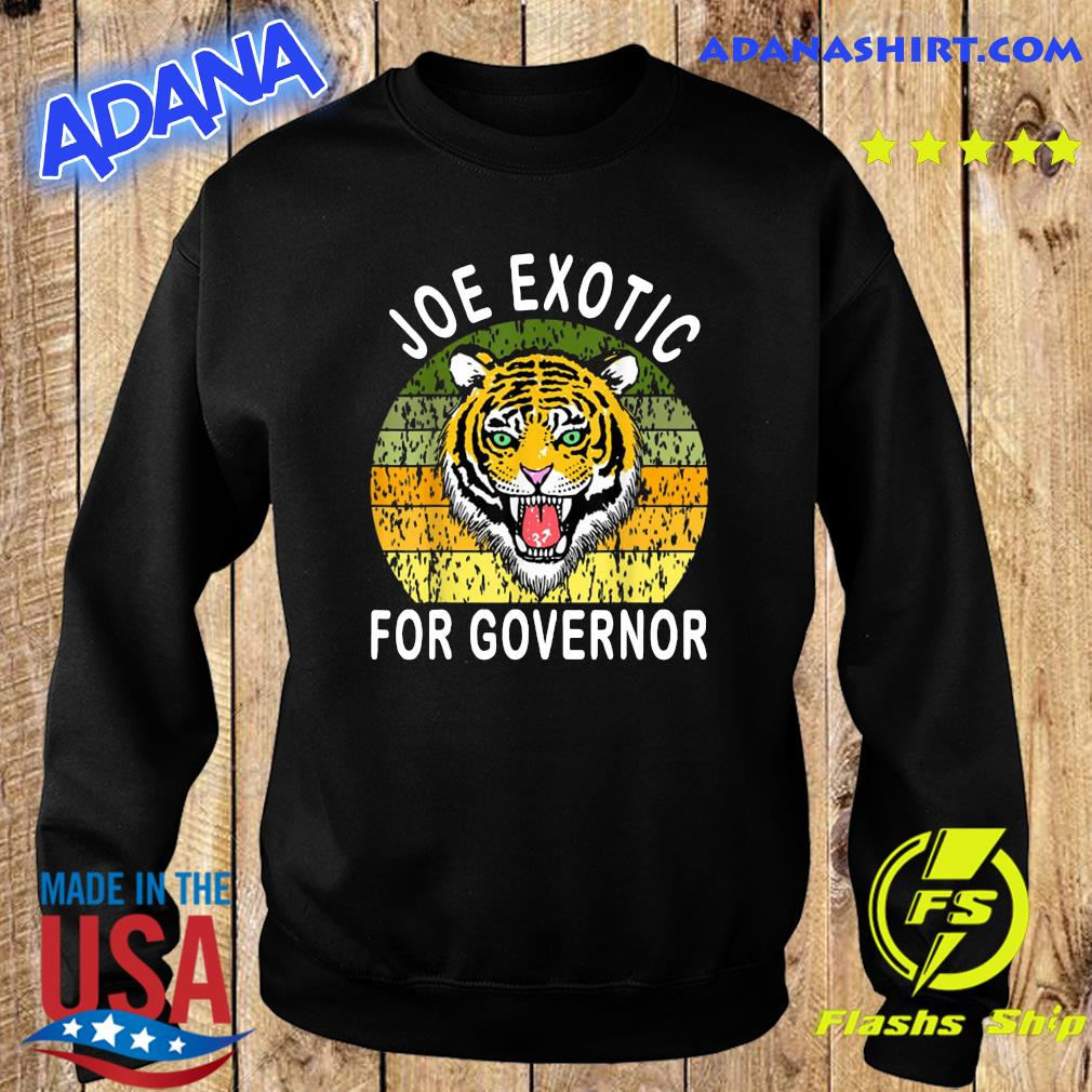 Joe Exotic For Governor Vintage Shirt Sweater