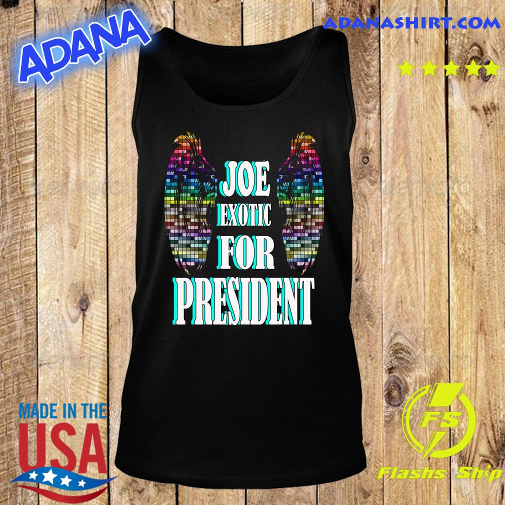 Joe Exotic for president Wings s Tank Top