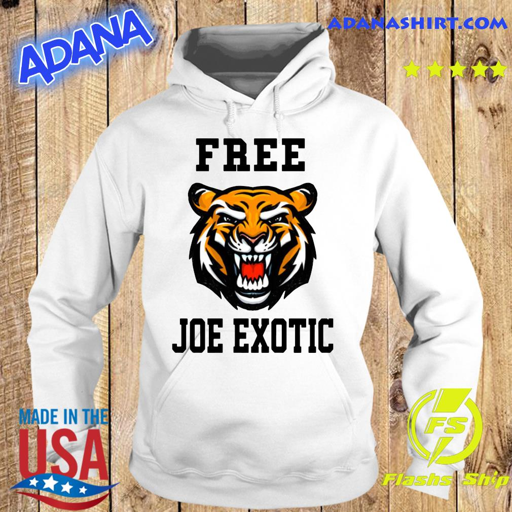 Official Free Joe Exotic Shirt Hoodie