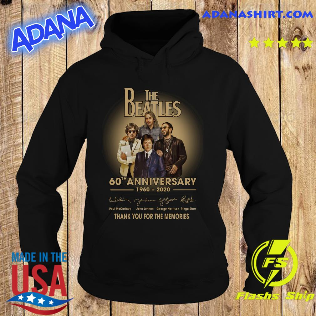The Beatles 60th anniversary 1960 2020 Paul Mccartney John Lennon think s Hoodie