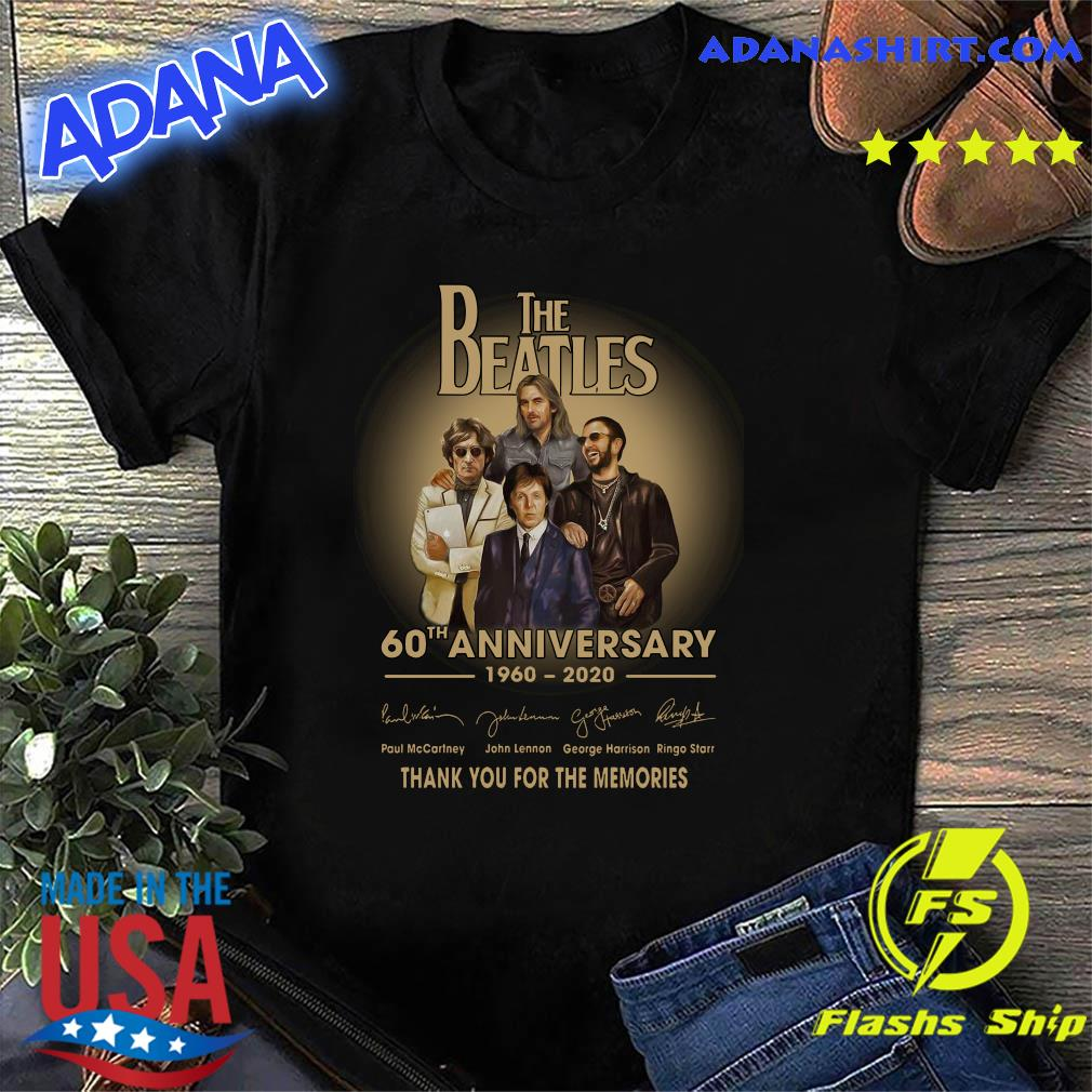 The Beatles 60th anniversary 1960 2020 Paul Mccartney John Lennon think shirt
