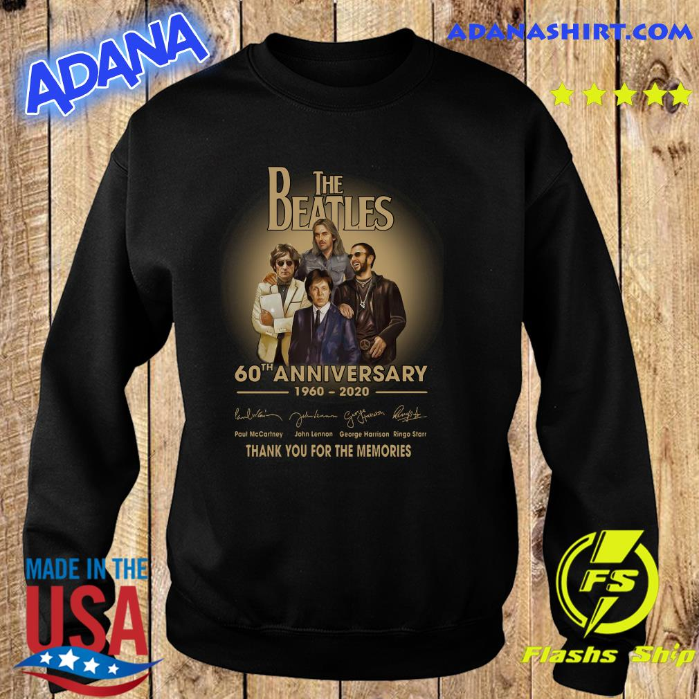 The Beatles 60th anniversary 1960 2020 Paul Mccartney John Lennon think s Sweater