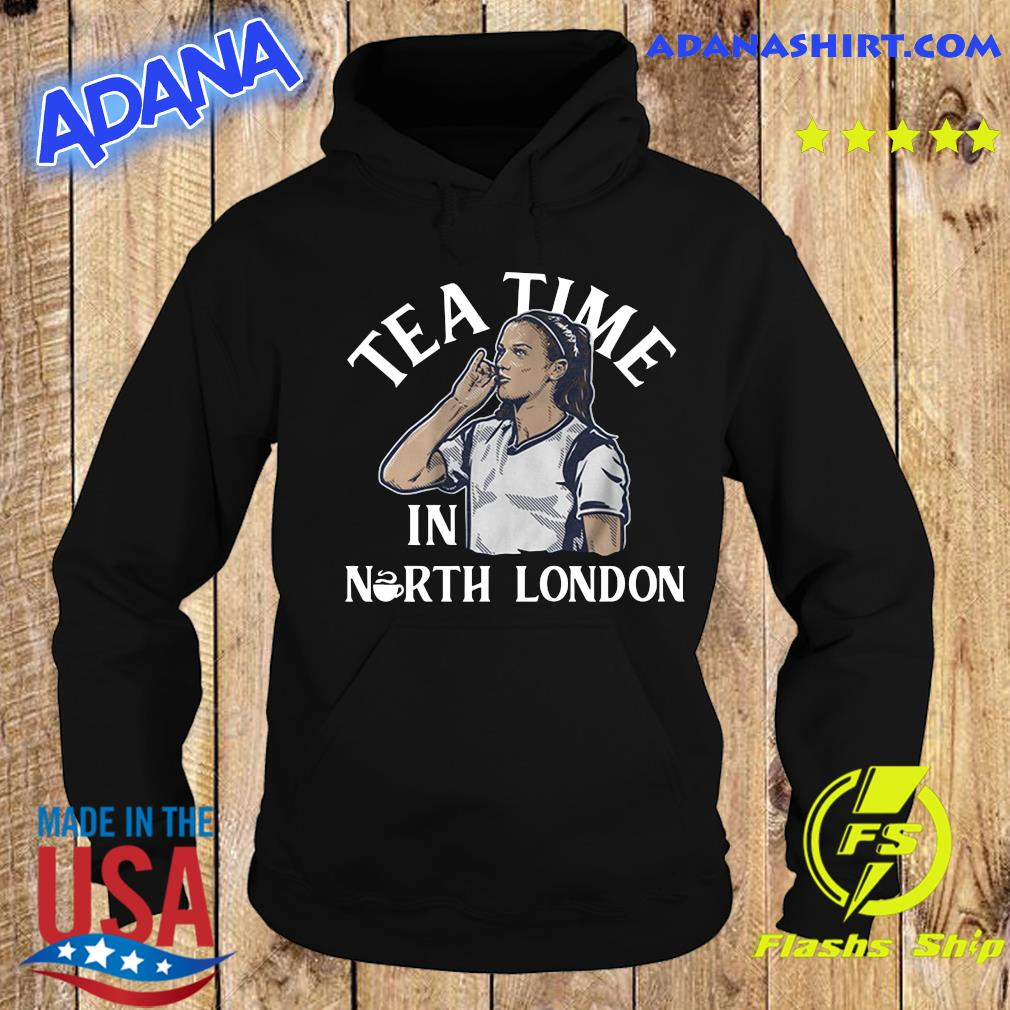 Alex Morgan Tea Time in North London USWNTPA Shirt Hoodie