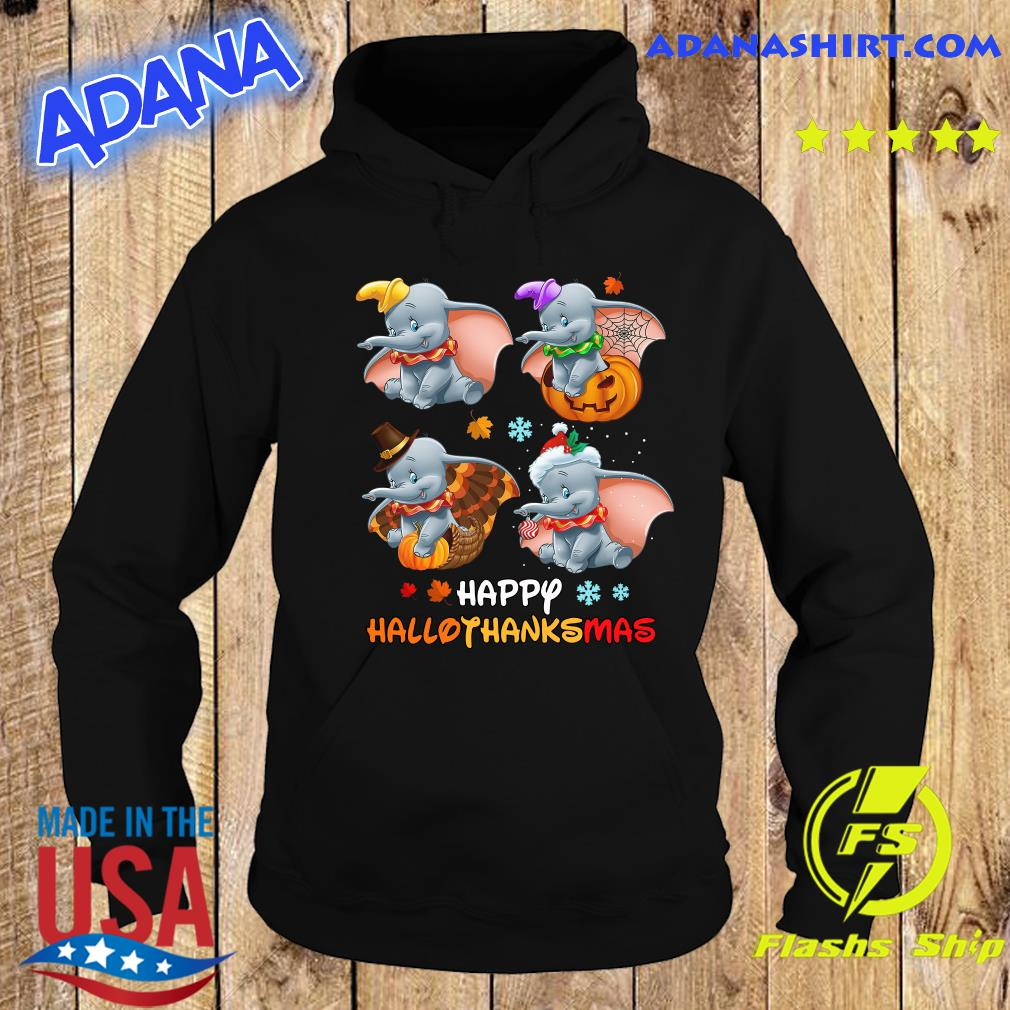 Disney Dumbo Happy Hallothanksmas Shirt Hoodie