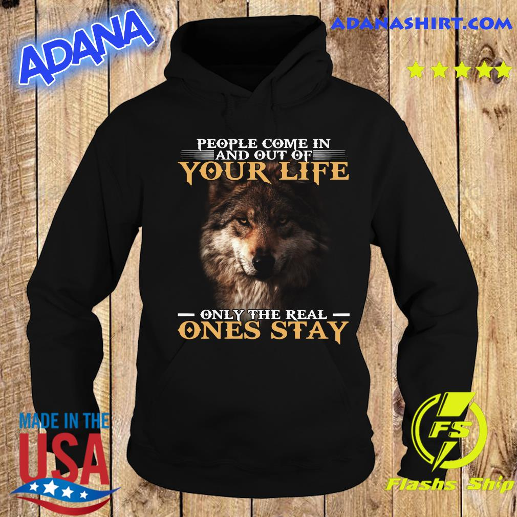 Dog People Come In And Out Of Your Life Only The Real Ones Stay Shirt Hoodie