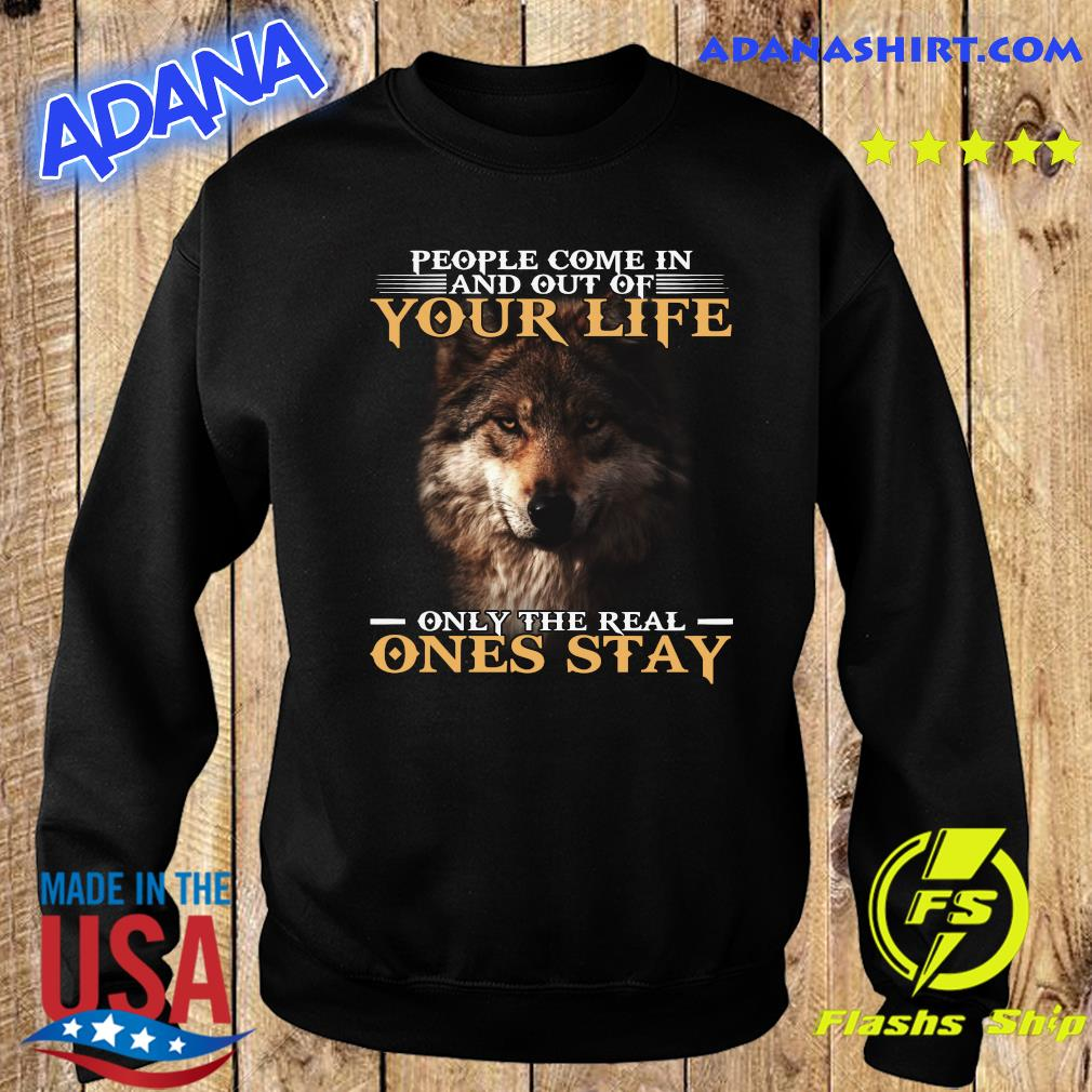 Dog People Come In And Out Of Your Life Only The Real Ones Stay Shirt Sweater