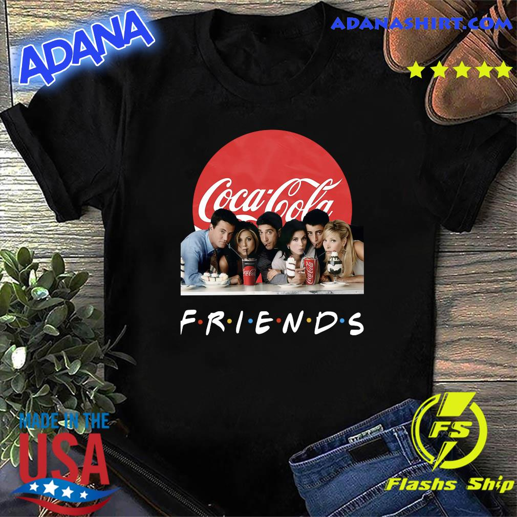 Friends Character Coca Cola Shirt