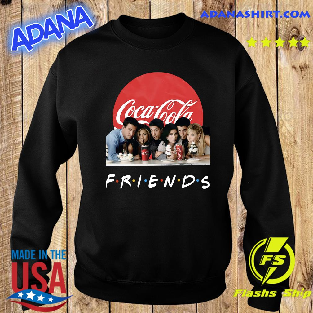 Friends Character Coca Cola Shirt Sweater