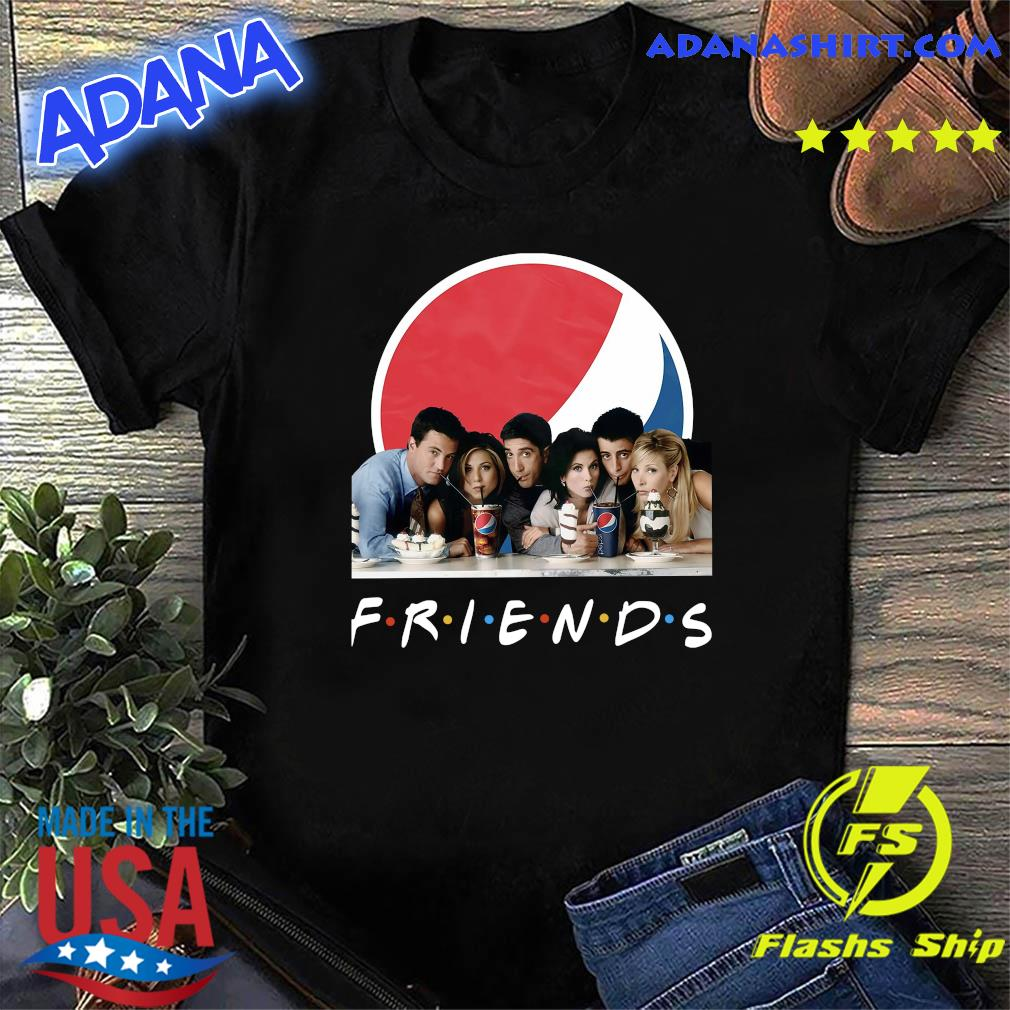 Friends Character Pepsi Shirt