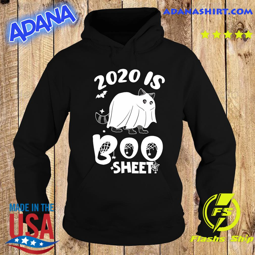 Ghost Cat 2020 Is Boo Sheet Halloween Shirt Hoodie