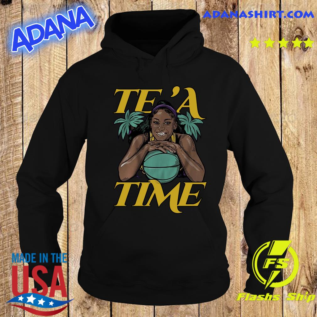 Official Te'a Cooper, Te'a Time, Los Angeles Shirt Hoodie