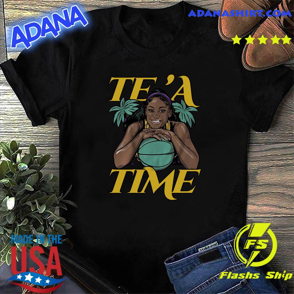 Official Te'a Cooper, Te'a Time, Los Angeles Shirt