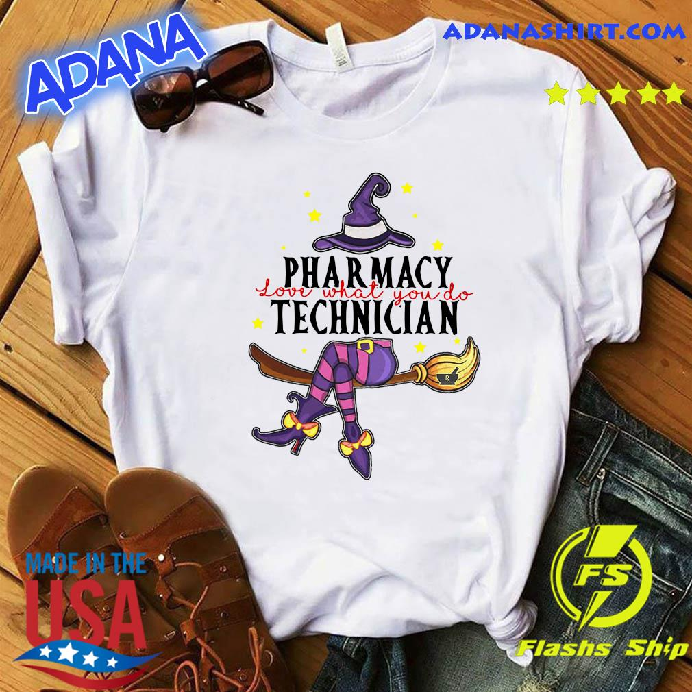 Pharmacy Technician Love What You Do Halloween Shirt