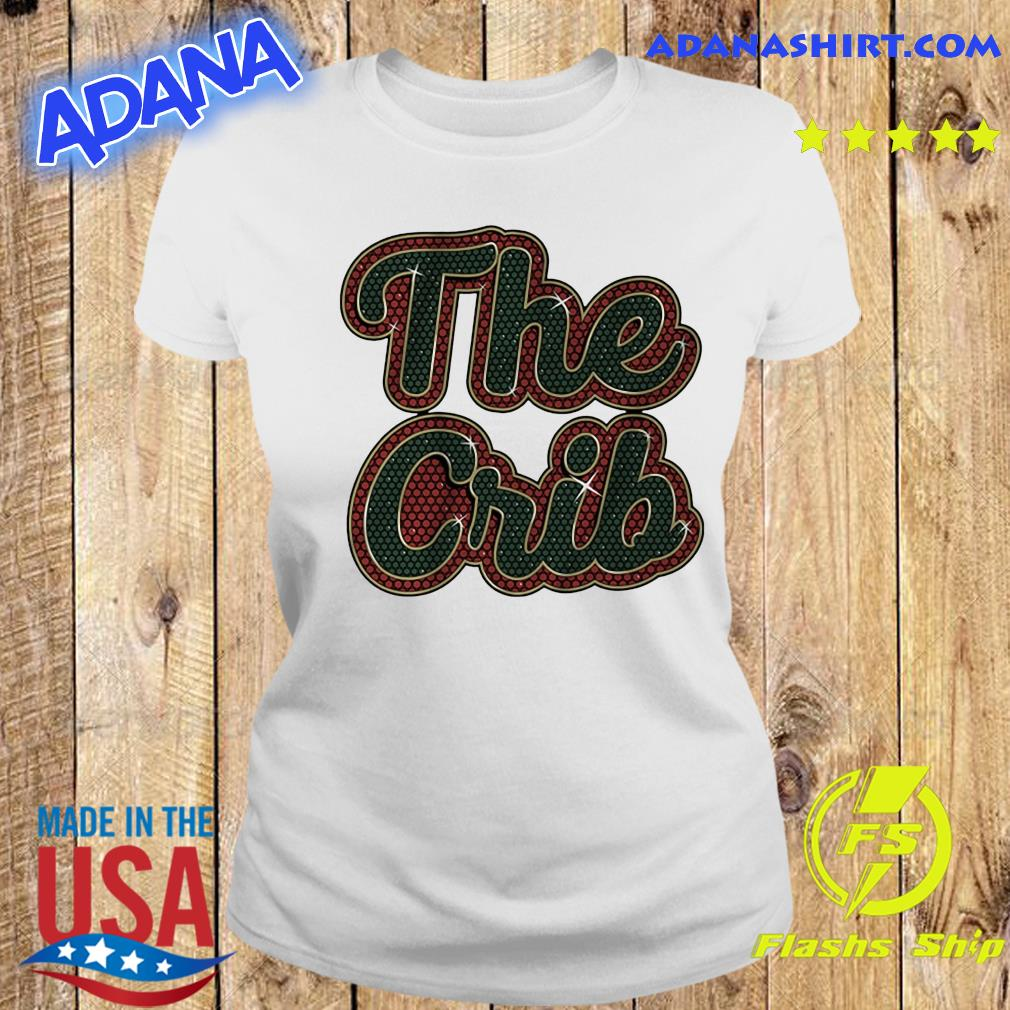 The Crib Miami Football Shirt Ladies tee