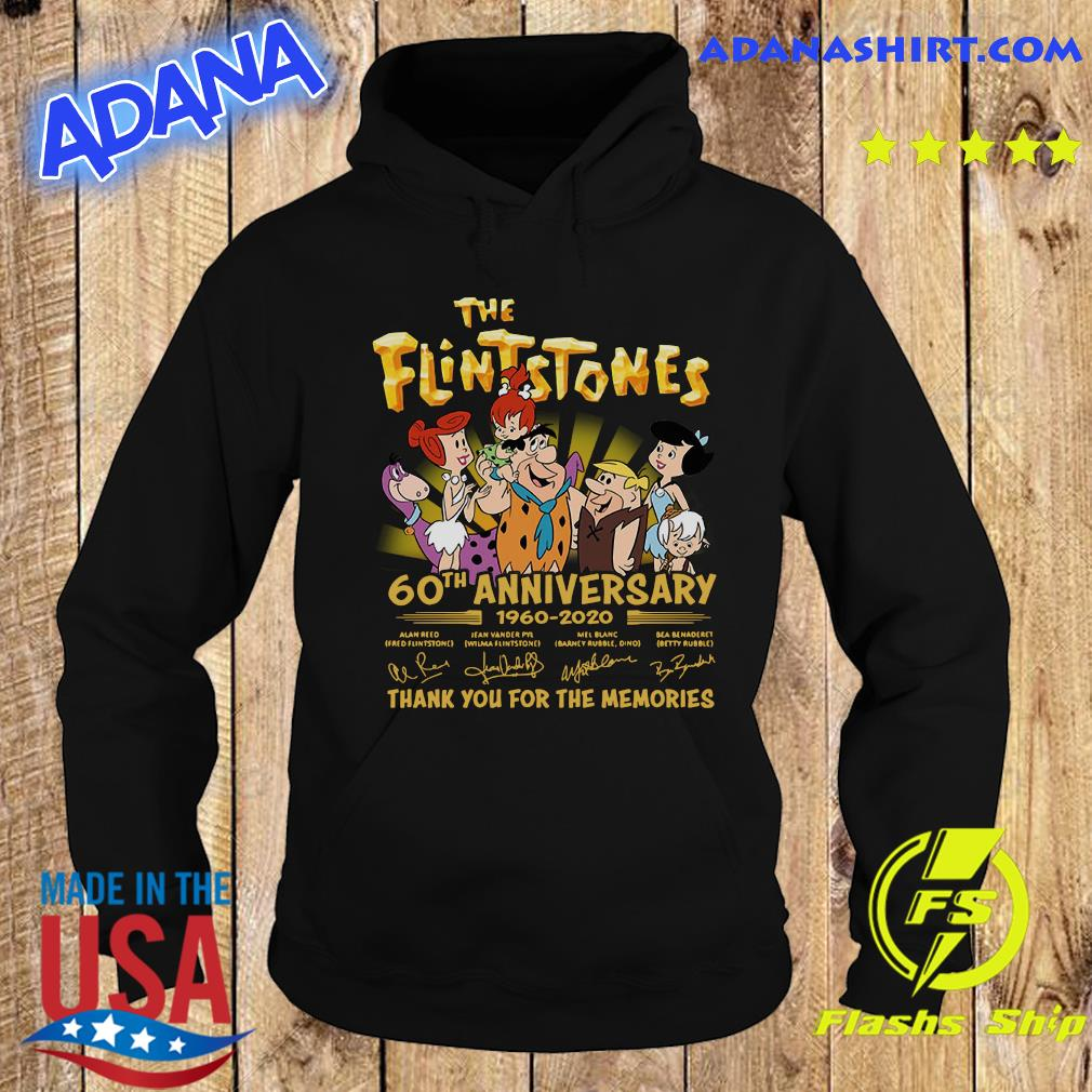 The Flintstones 60th Anniversary 1960 2020 Thank You For The Memories Signatures Shirt Hoodie