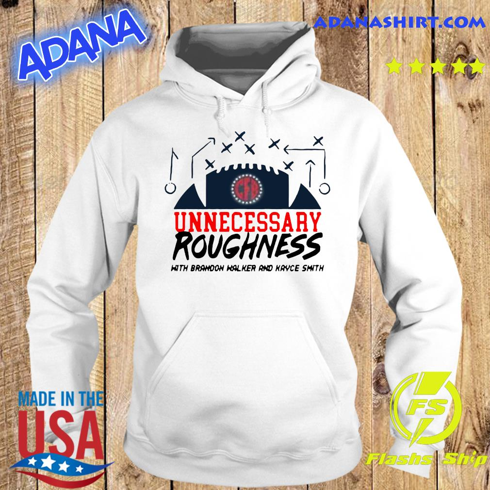 Unnecessary Roughness Pocket Shirt Hoodie