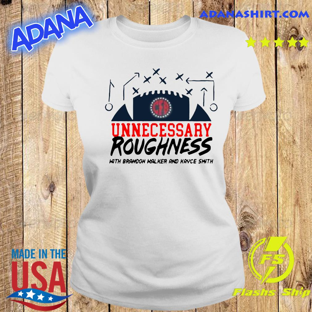 Unnecessary Roughness Pocket Shirt Ladies tee