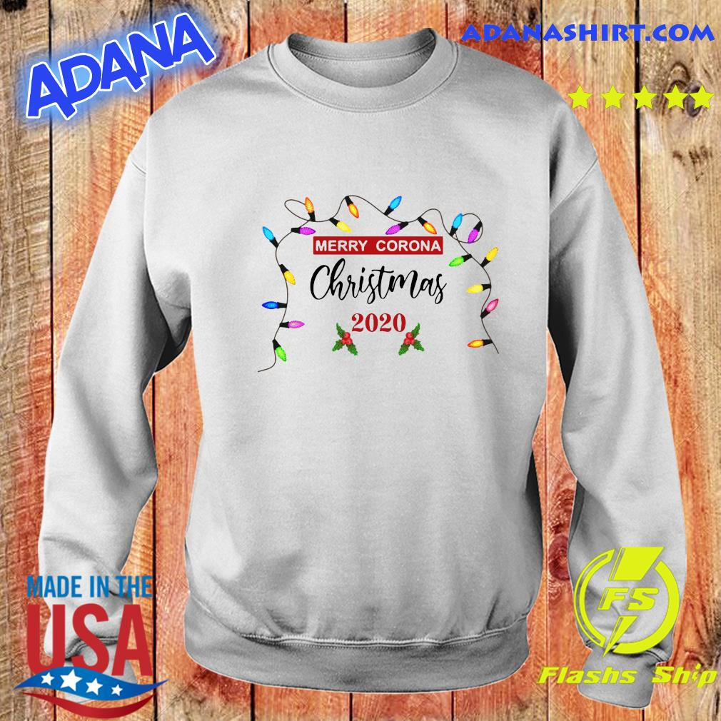 Light Merry Corona Christmas 2020 Sweatshirt