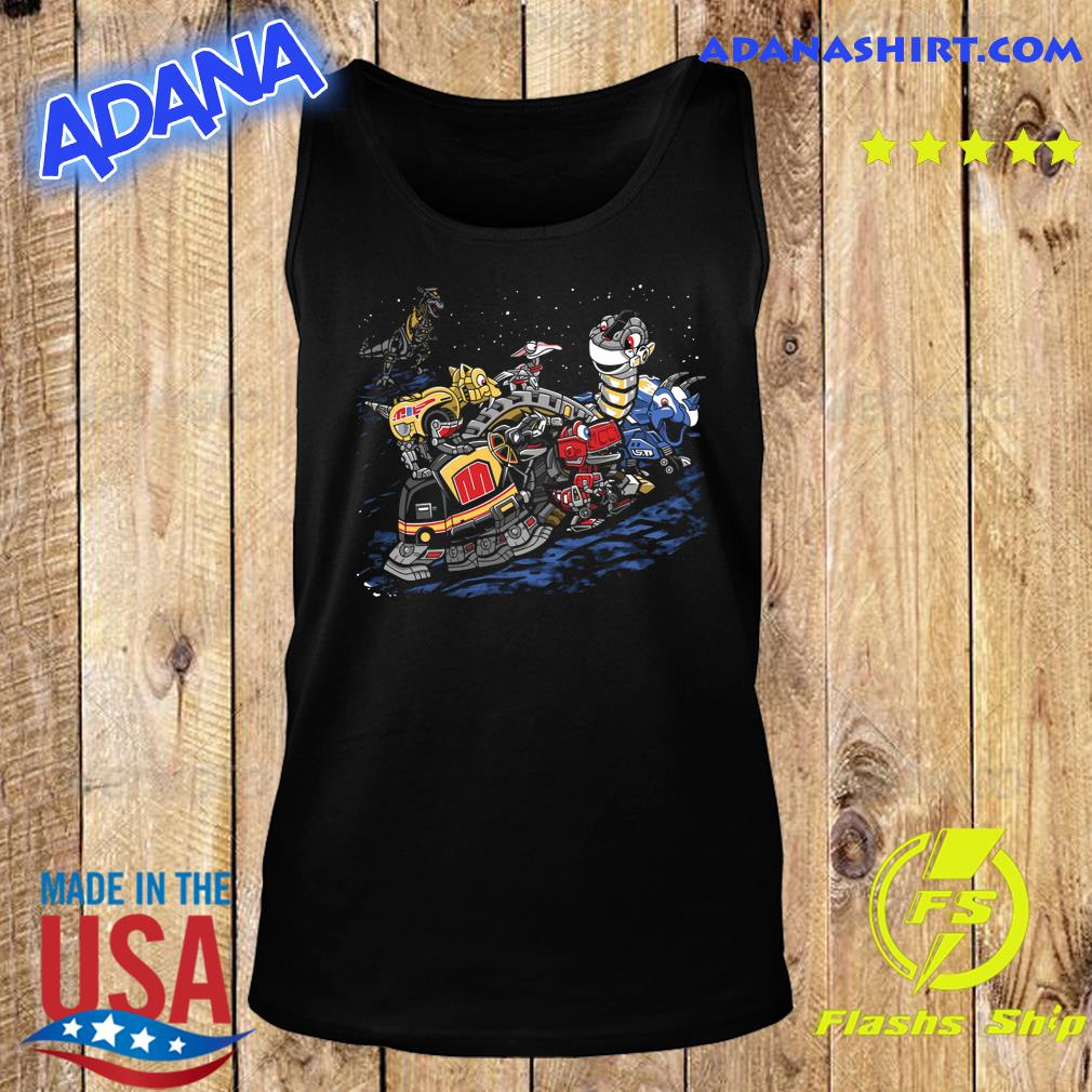 Zords before time Powers Ranger s Tank Top